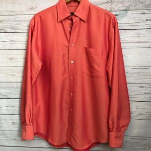 Bugatchi Long Sleeve Button Down Size Small